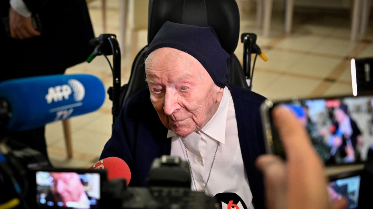 French nun, Europe's oldest individual, beats Covid-19 on eve of 117th birthday