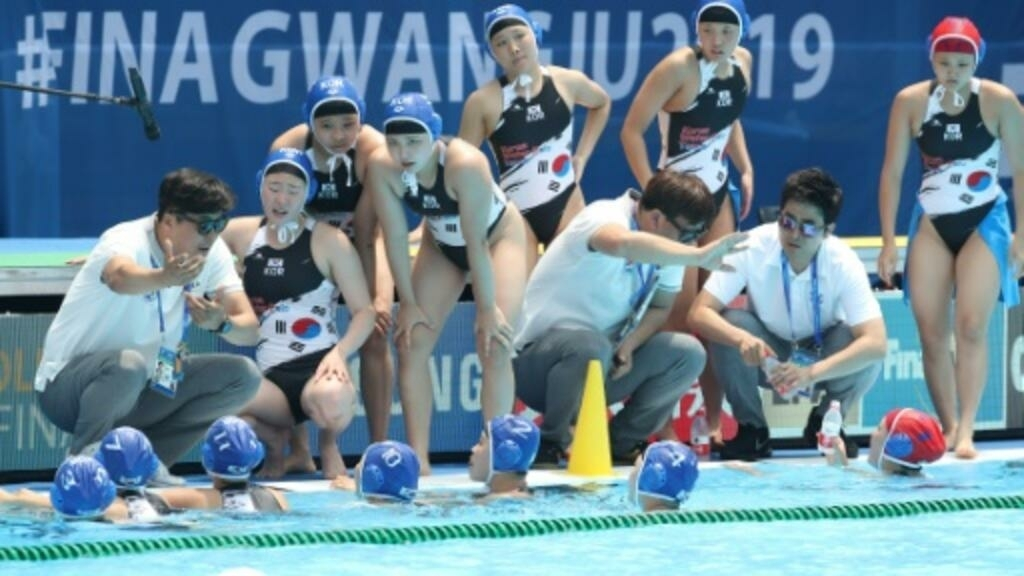 Korean women crushed 64-0 by Hungary at world water polo