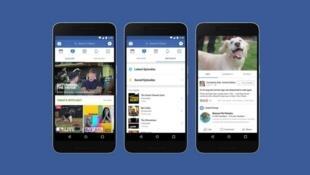 Watch, le nouvel onglet 100 % vidéos de Facebook