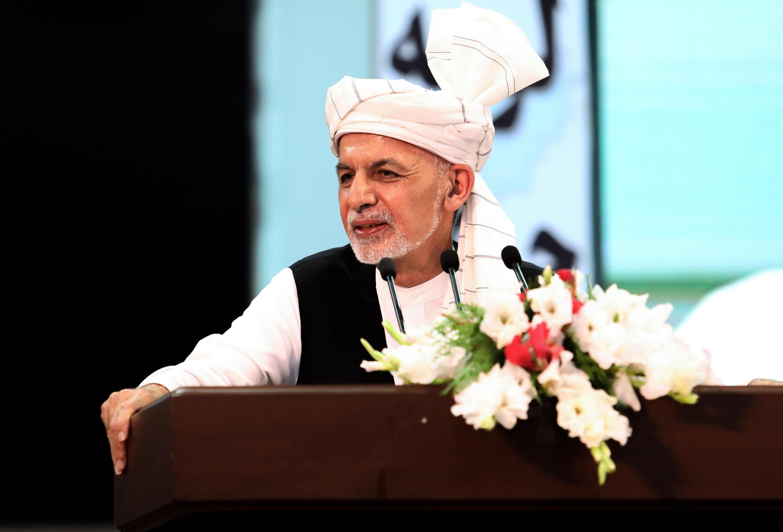 Le président afghan Ashraf Ghani (archive).