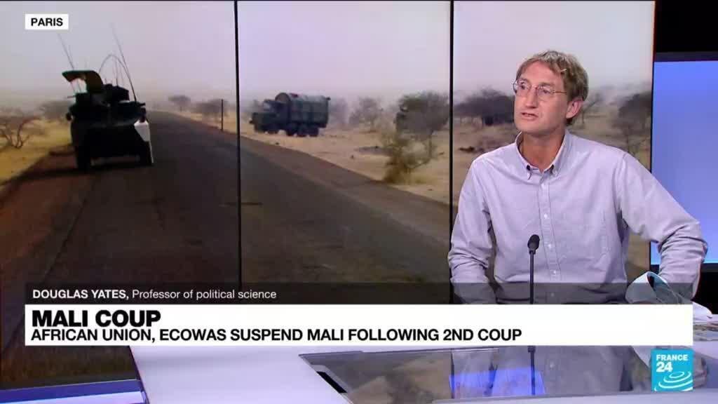 2021-06-07 14:33 Mali coup: head of military junta Assimi Goita sworn in as president