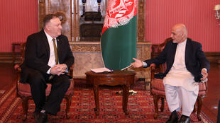 Afghanistan Mike Pence Ashraf Ghani