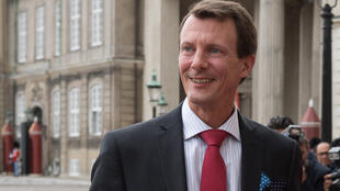 """Prince Joachim, pictured at  Amalienborg Castle in Copenhagen in 2018, is """"stable"""" following Friday's surgery, the palace said"""