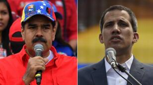 Nicolás Maduro défié par le chef de l'opposition Juan Guaido.