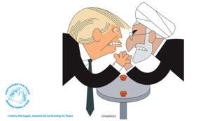 Donald Trump et Hassan Rohani se livrent à un bras de fer dangereux depuis plusieurs semaines.