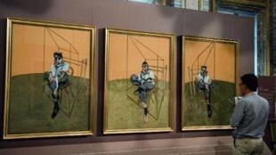 """""""Trois études de Lucian Freud"""" par Francis Bacon"""