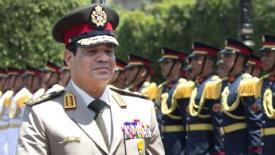 Le général Abdel Fattah al-Sissi