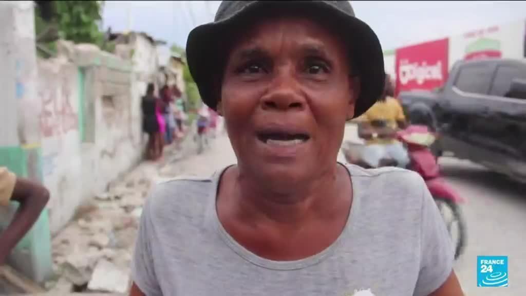 2021-08-17 10:10 Après le séisme en Haïti, la tempête Grace s'abat sur l'île