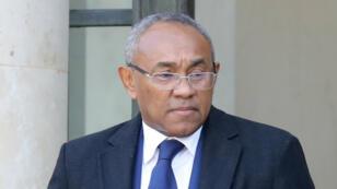 Ahmad Ahmad, le président de la Confédération africaine de football (CAF), en février 2018.
