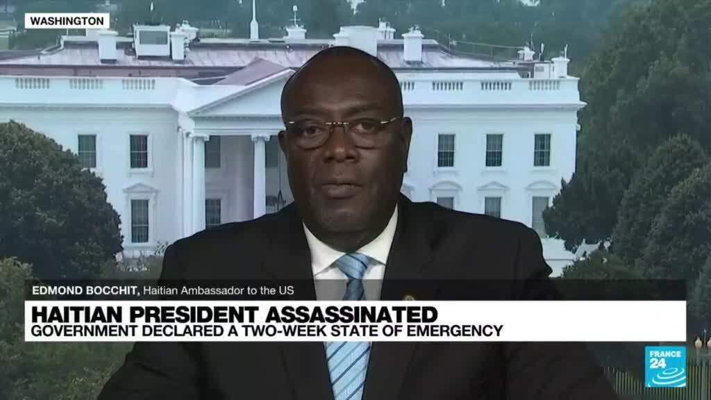2021-07-08 18:04 'The manhunt continues' after assassination of Haitian President, says Haitian ambassador to the US