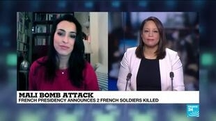 2021-01-03 18:02 MALI BOMB ATTACK: French Presidency announces 2 French soldiers killed