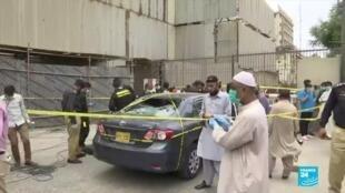 2020-06-29 14:19 Pakistan : attaque contre la Bourse de Karachi terminée, au moins 6 morts