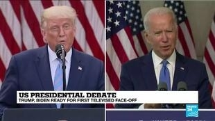 2020-09-29 17:05 Presidential rivals to pitch to undecided voters from debate stage