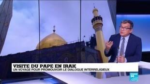2021-03-05 11:04 Visite du pape en Irak : un voyage pour promouvoir le dialogue interreligieux