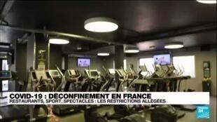 """2021-06-09 11:01 Déconfinement en France : """"On peut enfin manger à l'intérieur"""" des restaurants"""