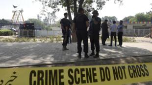 Cet attentat, dont le bilan s'est alourdi à 72 morts, dont 29 enfants, est le plus meurtrier cette année au Pakistan.