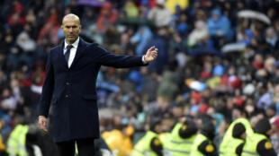 Zidane est invaincu avec le Real Madrid depuis qu'il a pris les commnades de l'équipe début janvier.