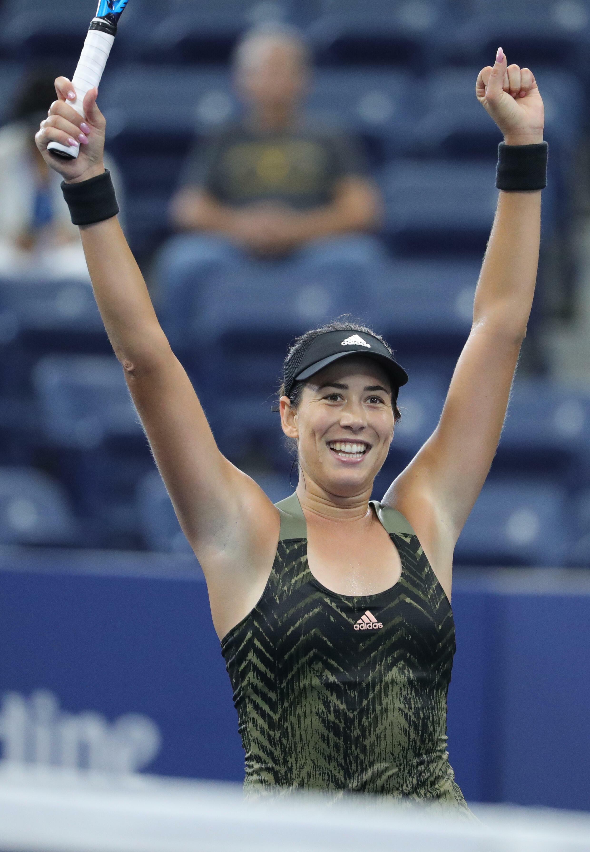 L'Espagnol Corbine Muguruza a remporté les titres du Grand Chelem sur terre battue et sur gazon, mais n'a pas encore remporté la compétition de l'US Open sur les courts en dur à New York