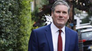 Le dirigeant des Travaillistes britanniques Keir Starmer, le 3 juin 2020 à Londres