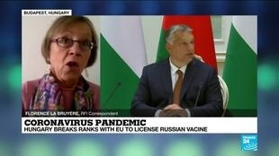 2021-01-22 15:31 Is Hungary breaking from EU rules in authorizing Russia's anti-Covid-19 Sputnik V vaccine first?