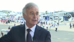 Philippe Petitcolin, directeur général de Safran depuis avril 2015.