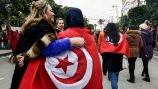 مسيرة للنساء التونسيات