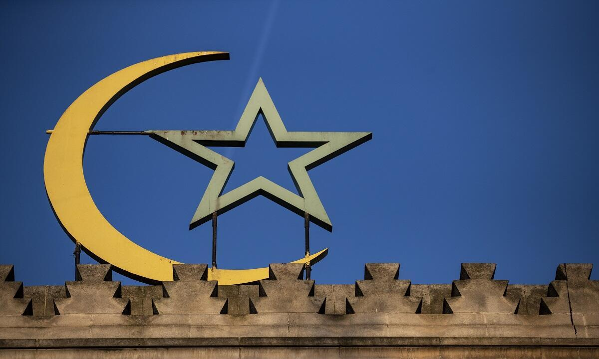 مسجد باريس الكبير.