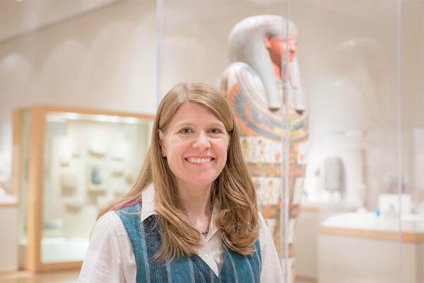 L'archéologue Sarah Parcak.