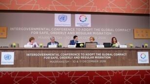 افتتاح مؤتمر مراكش حول الهجرة 10 كانون الأول/ديسمبر 2018