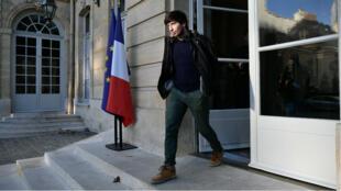 """Jason Herbert a indiqué s'être présenté à la réunion à Matignon par simple """"courtoisie""""."""