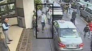 """La vidéo mise en ligne par la police belge, jeudi 7 avril 2016, montre des nouvelles images de """"l'homme au chapeau"""" de l'aéroport de Zaventem."""