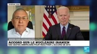 2021-02-19 10:01 Accord sur le nucléaire iranien : Washington accepte l'invitation de l'UE à des pourparlers