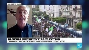 "2019-11-17 14:09 Algeria presidential election: ""The new president will simply be a man of straw"""