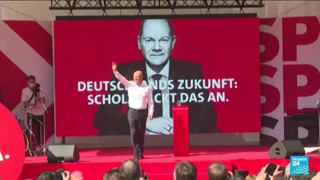 2021-09-27 14:33 Législatives en Allemagne : qui est Olaf Scholz, le chef de file du SPD ?