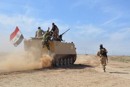 مقاتلون موالون للحكومة العراقية