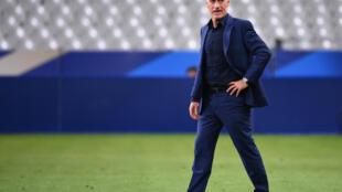 Didier Deschamps le 8 septembre 2020  au Stade de France à Saint-Denis près de Paris.