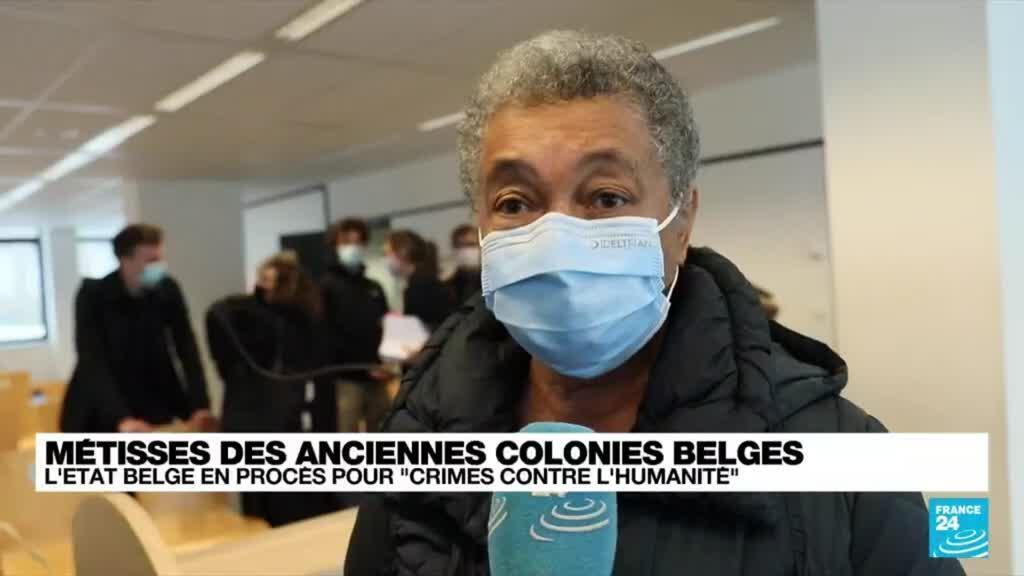 """2021-10-14 18:09 Métisses des anciennes colonies belges : """"Elles sont la preuve vivante d'un crime d'Etat"""""""