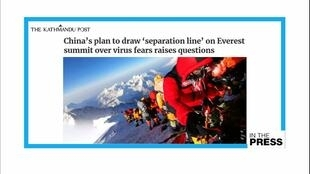 RVP NEPAL CHINA MOUNT EVEREST