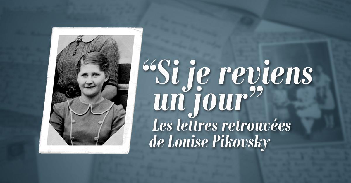 Le webdocumentaire de France 24 consacré aux lettres de Louise Pikovsky.