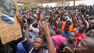 Manifestantes en Kenia piden reforma electoral