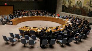 Le Conseil de sécurité de l'ONU, le 28 février 2019.