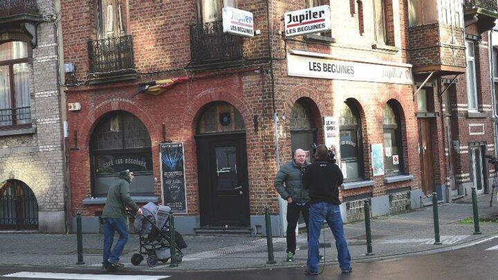 Le bar des frères Abdelsam à Molenbeek.