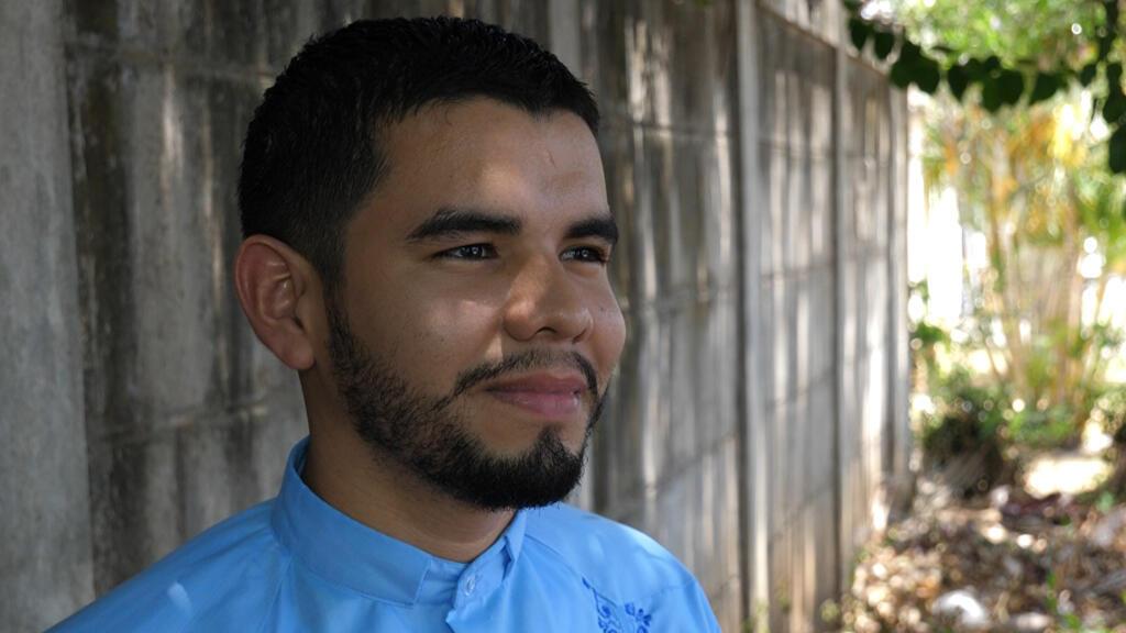 Levis Rugama, uno de los excarcelados el pasado 15 de marzo en Nicaragua.