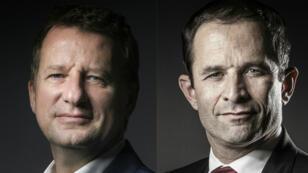 Yannick Jadot et Benoît Hamon s'allient pour la présidentielle.
