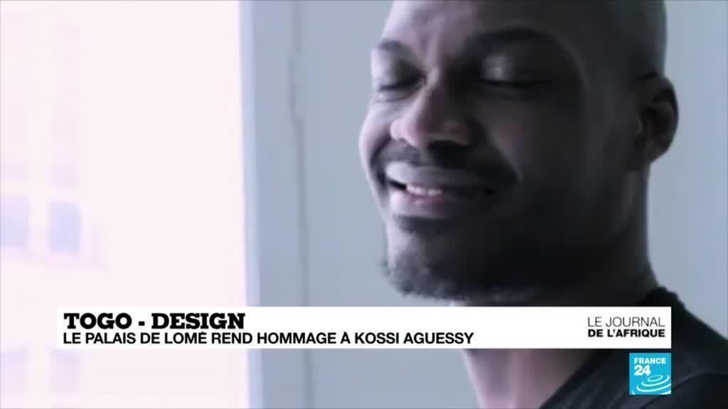 2021-04-29 21:51 Togo : le Palais de Lomé rend hommage au designer Kossi Aguessy