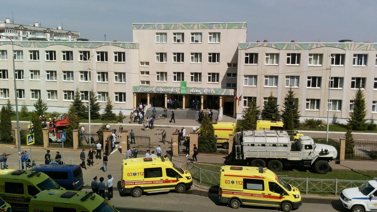 Rusia: un tiroteo en una escuela de Kazán deja al menos ocho muertos
