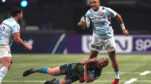 Simon Zebo has scored 17 tries in 39 games since joining Racing 92 in 2018