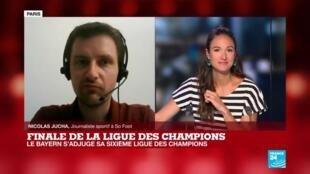 2020-08-23 23:03 Le Bayern Munich: logique vainqueur de la Ligue des Champions?