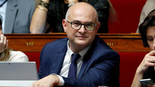 "Member of parliament Laurent Pietraszewski of ""La Republique en Marche"" (Republic on the Move or LREM) political party attends the questions to the government session at the National Assembly in Paris, France, October 24, 2017."