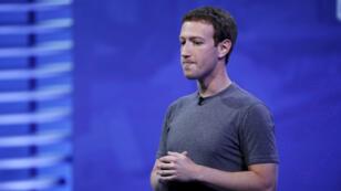 Mark Zuckerberg à la conférence d'ouverture de Facebook F8, en 2016.